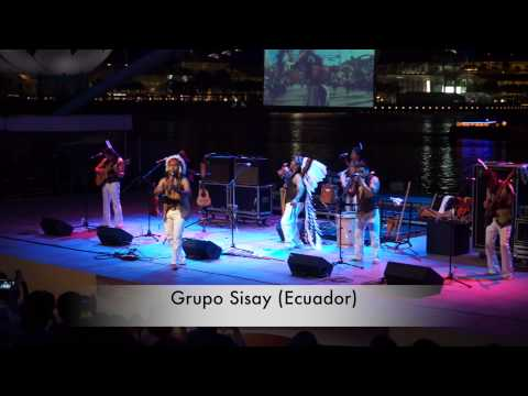SISAY concert at Singapore - Soothing Music from Ecuador!