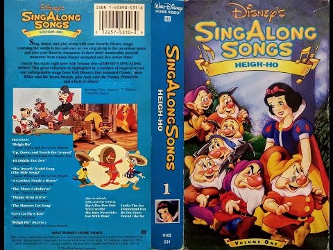 Opening to Disney's Sing Along Songs - Heigh Ho 1993 VHS