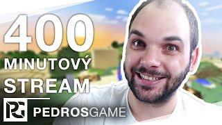 400 MINUTOVÝ LIVESTREAM (1) | Pedro, Jirka, Mates, Mazi, Gejmr, Ment a House