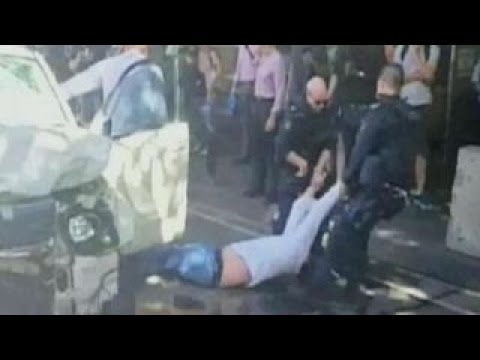 Australian authorities arrest two in SUV attack