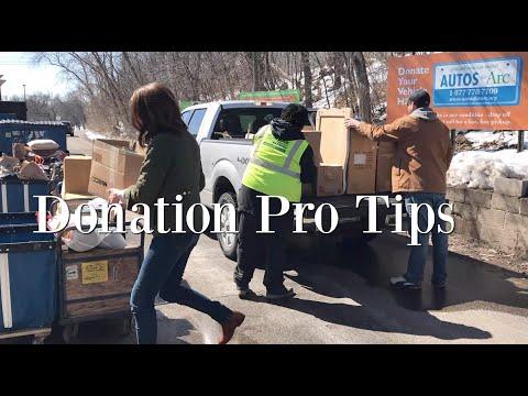 Donation Pro Tips!