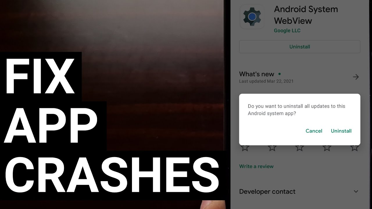 Google fixes issue causing Android apps to crash with updates to ...