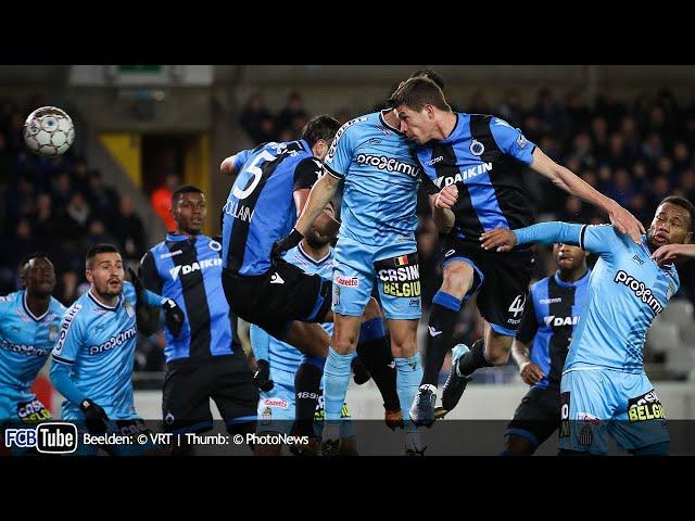 2017-2018 - Croky Cup - 03. Kwartfinale - Club Brugge - SC Charleroi 5-1