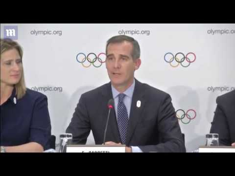 Los Angeles makes a bid to host the 2024 summer Olympics