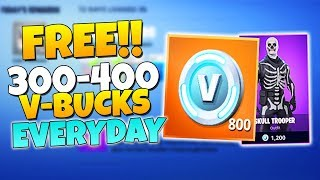 how to get vbucks fortnite