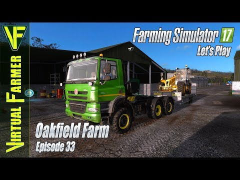 Gathering Raw Material | Oakfield Farm, Episode 33: Let's Play Farming Simulator 17