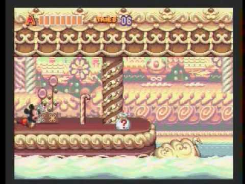 World Of Illusion (Genesis): 15:47 SPEED RUN (Mickey) By Edenal