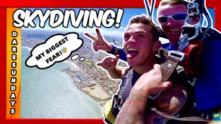 WE WENT SKY DIVING!