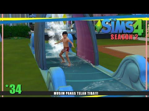 MUSIM PANAS TELAH TIBA!!! [SEASONS]   #34   The Sims 4 Season 2 Indonesia thumbnail