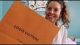 WHAT I  BOUGHT: A LOUIS VUITTON BAG, WEDDING DRESS & PYREX