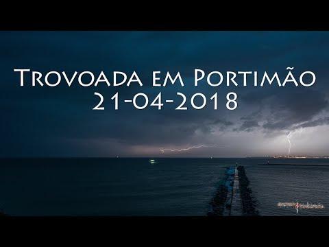Trovoada Portimão (21-04-2018)
