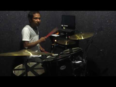 Zigas Sahabat jadi cinta cover drum by novigita (Official video)