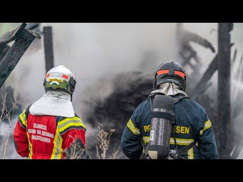 14.05.21 Brand i lade ved forladt gård nær Sorø