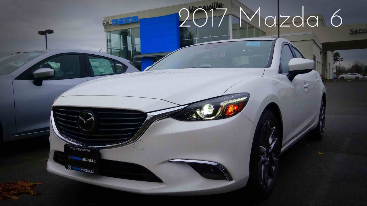 2017 mazda 6 grand touring 2 5 l 4 cylinder review youtube. Black Bedroom Furniture Sets. Home Design Ideas
