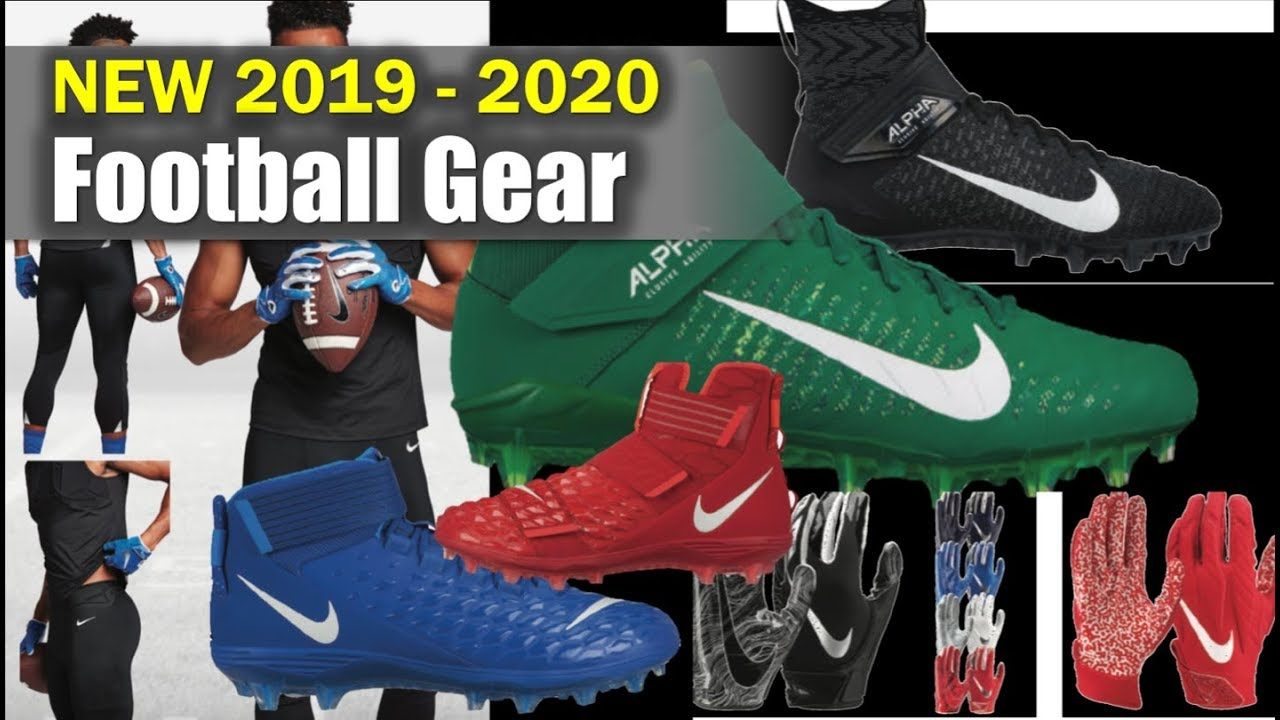 NEW** 2019 - 2020 Football Gear 😱 - YouTube