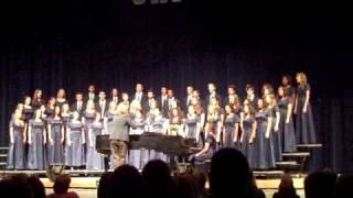 Gaither High School Concert Chorus - Sing Unto God
