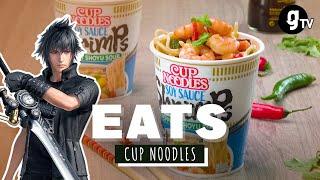 Wir kochen die Cup Noodles aus FINAL FANTASY XV nach | EATS #15 | gTV