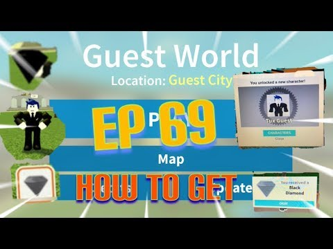 "Roblox- ""Guest World!"" {Episode 69} How To Get Tux Guest!!!"