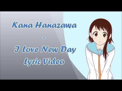 Kana Hanazawa - I Love New Day (Romaji Lyric Video)