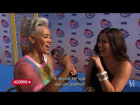 Lauren Jauregui fala para o Access Hollywood no TCA 2019 legendado PT-BR