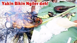 MUKBANG Jengkol, Ikan Peda, Sambel Terasi & Ayam Bakar Bikin Makan Makin Lahap!!!