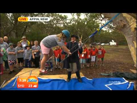 NSW Cuboree 2014 from the Today Show