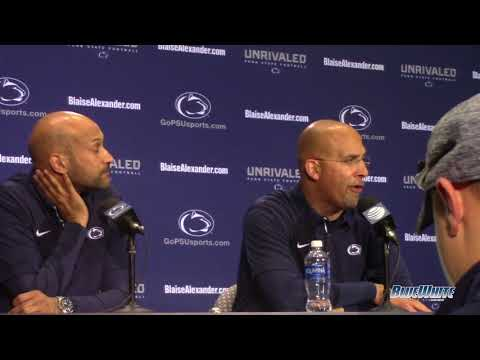 James Franklin and Keegan MichaelKey: BlueWhite Game