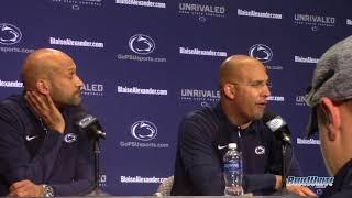 James Franklin and Keegan Michael-Key: Blue-White Game