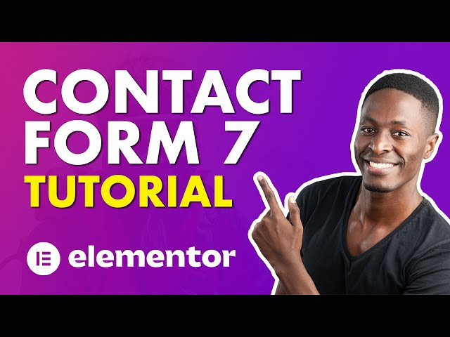 Setup Contact Form 7 in Elementor the Right Way (Contact Form 7 Tutorial 2021)