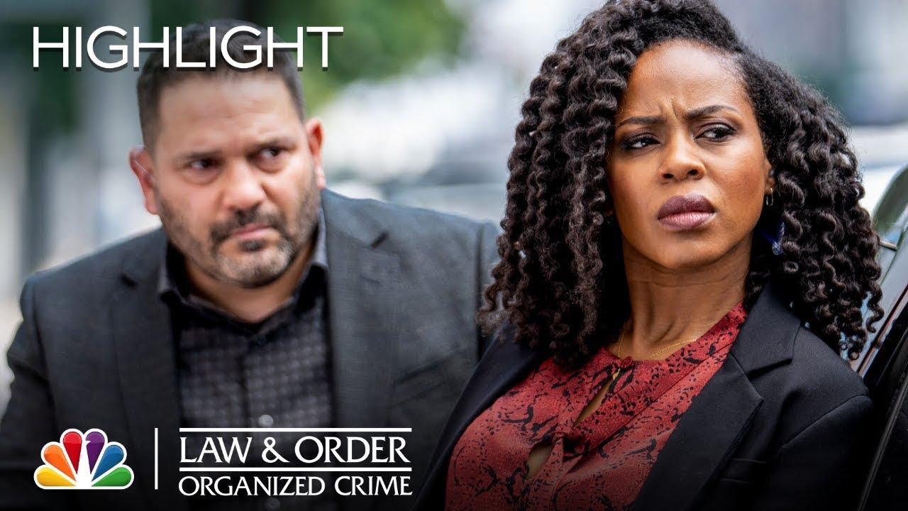 Stabler Gets Handed... a Rocket Launcher?! | Law & Order: Organized Crime