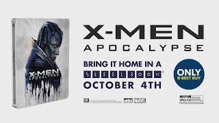 X-Men Apocalypse (Blu-ray+DVD+UV) (Steelbook) (Only @ Best Buy)(, 2016-10-03T17:14:19.000Z)