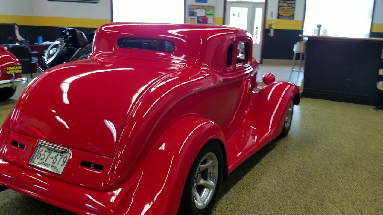 1934 Plymouth coupe street rod for sale