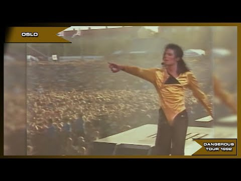 Michael Jackson - Wanna Be Startin' Somethin' - Live Oslo 1992 - HD