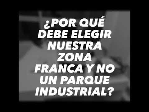 ¿Por qué debe elegir nuestra Zona Franca y no un parque industrial?