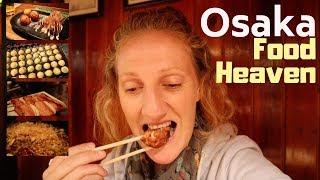BEST OSAKA FOOD TOUR - What To Eat in Osaka, Japan