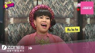 Cười Bò Với Màn Việt Hương Làm Má Mì Chợ Cá