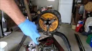 natural gas log installed ran gas piping