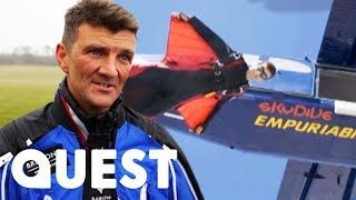 Man Attempts Insane 1,000m Skydive Without A Parachute | You Have Been Warned: Kings Of Carnage