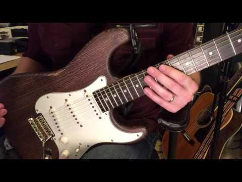SLICK SL57 strat Unboxing & Review Guitarfetish Xaviere guitar