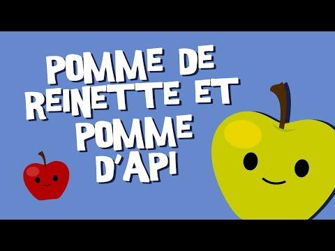 Pomme De Reinette Et Pomme D Api Comptine Pour Enfants