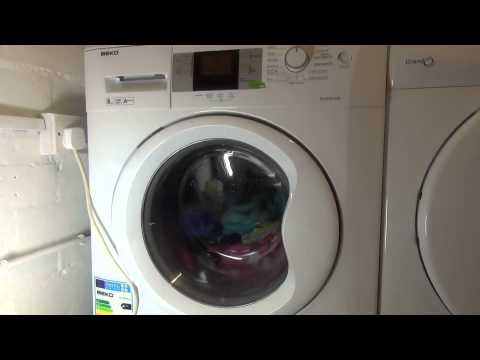 Beko WMB81445L Washing Machine : Cotton Prewash with Plus Water