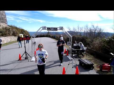 2015 Brasstown Bald Buster 5K Finish Line