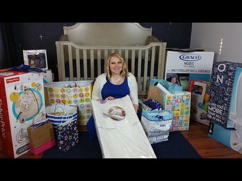 What I got at my baby showers! (part 1 of 2)