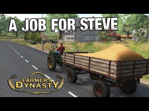 A JOB FOR STEVE | Farmer's Dynasty | Ep 11