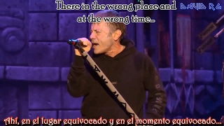 Iron Maiden - The Red and The Black Subtitulado al Español [Lyrics] (Live Wacken) [HD]