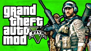 "GTA 5 - Play as The Army! (Army Mod) [Mod Showcase] ""GTA 5 Funny Moments"""