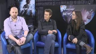Ellen Page - Willem Dafoe // Beyond: Two Souls // Red Carpet Event @ Paris