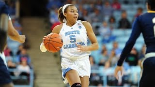 UNC Women's Basketball: Heels Shoot Past South Carolina State, 82-49