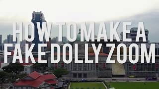 3 Min Tutorial | How To Make A FAKE Dolly Zoom (Premiere Pro)