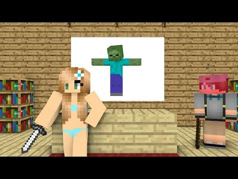 Monster School : Zombie Killer - Minecraft Animation